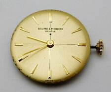 Vintage BAUME & MERCIER Ladies Wristwatch Movement 17 Jewels