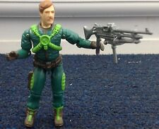 G.I .Joe - major Attitude Action Figure Action force  1980's hasbro