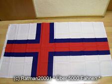 Fahnen Flagge Färöer Inseln Sonderposten - 90 x 150 cm