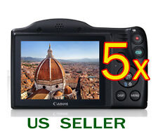 5x Clear LCD Screen Protector Guard Film For Canon PowerShot SX400 IS SX410 IS