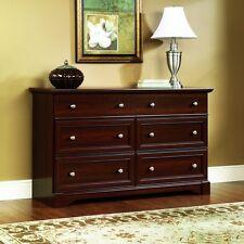 Dresser Chest Drawers Cherry Wood Bedroom Bureau Storage TV Stand Dressing Room