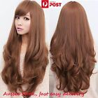 Womens Girls Long Curly Wavy Full hair wigs Cosplay Party Costume - 4 Colours