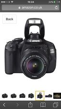 Canon EOS 600D / Rebel T3i 18.0MP Digital SLR Camera - Black (Kit w/ EF-S IS...