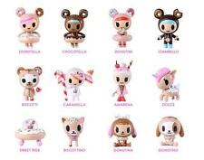 FULL CASE OF 16 DONUTELLA AND HER SWEET FRIENDS VINYL MINI FIGURE BY TOKIDOKI