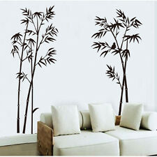 DIY New Bamboo Tree Wall Stickers Removable Vinyl Decal Mural Home Decoration