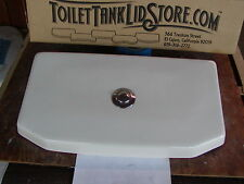 American Standard 4086 Toilet Tank Lid 735010 BONE with top actuator button 4I
