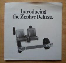 FORD ZEPHYR Mk IV De Luxe 1967 UK Market large format sales brochure - V6