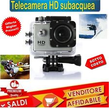 "Cam Sport 2"" Color HD 1080p Action Camera Go Videocamera Subacquea dv foto 2 """