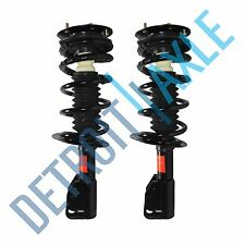 Both (2) NEW Front Complete Quick Install Ready Strut Spring & Mount Assembly