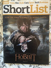 SHORTLIST Magazine MARTIN FREEMAN THE HOBBIT RICHARD ARMITAGE LUKE EVAS LEE PACE