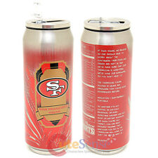 NFL San Francisco 49ers Thermo Can Travel Tumbler Stainless Drink Container