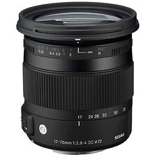 Sigma 17-70mm f/2.8-4 DC Macro OS HSM Zoom Lens NIKON DSLR 4 YEAR USA WARRANTY