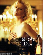 PUBLICITE ADVERTISING 056  2010  Dior parfum J'Adore & Charlize Teron