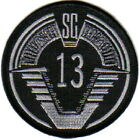 Stargate SG-1 TV Series Group 13 Screen Accurate Logo Embroidered Patch, UNUSED