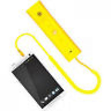 Portronics Phoni3 Portable Health Devices Retro Handset For Mobile Phones-Yellow