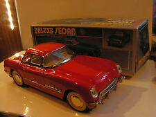 TIN TOY CHEVROLET CORVETTE 1953 JOUET TOLE 70/80 tin toy MF 316