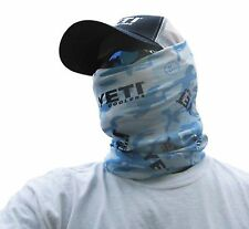 YETI One Size Fits All Buff Headwear Blue Camo Polyester