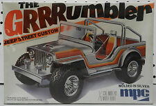 JEEP AMC WILLYS STREET CUSTOM 4X4 GRRRUMBLER CJ 5 7 1979 SEALED MPC MODEL KIT