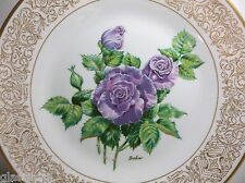 "Vintage Edward Marshall BOEHM Porcelain THE ANGEL FACE ROSE Plate 10.75"" LE"