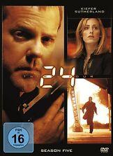 24  - SEASON 5 (Kiefer Sutherland) 6 DVDs NEU+OVP