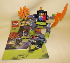 LEGO POWER MINERS MINE MECH 8957, GRANITE GRINDER 8958