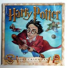 Harry Potter 2001 Calendar with Stickers New