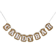 Baby Shower Baby Candy Bar Banner Bunting Garland Wedding Party DIY Decoration