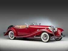 "1935 Mercedes Benz 500k Luxury Roadster 11 X 14"" Photo Print"