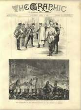 1887 Student Torchlight Procession German Emperor Birthday