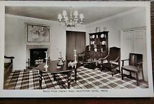 PERTH BONNIE PRINCE CHARLIE ROOM SALUTATION HOTEL PHOTO POSTCARD