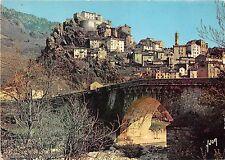 BR28257 La corse corte la ville et son vieux pont sur le tavignano france