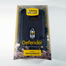 New genuine Otterbox defender case for Samsung Galaxy S7 holster belt-clip Black