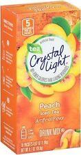 Crystal Light On The Go Peach Iced Tea Drink Mix