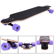 """41""""X9.5"""" BLANK Drop Down Complete Longboard Professional Speed skateboard"""