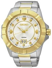 SEIKO LORD Authentic Men's 100m WR Watch SUR134P1 100%Brand New Big Date Display
