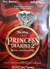 The Princess Diaries 2 Royal Engagement Original 2004 DS Movie Poster Ring A