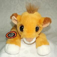 Mattel Floppy Simba Baby Cub The Lion King Disney Authentic Plush 1993 WITH TAG