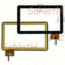 "Touch screen Mediacom SmartPad 1010i M-MP1010i 10,1"" Vetro Digitizer Nero"
