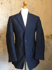 arc 48 1930's 1940's Bespoke Tweed Jacket Short Body Three Button Style Size 38