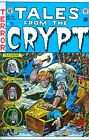 Tales from the Crypt 29 COVER PRINT Jack Davis Killer Nails Dead Body In Coffin