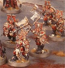 Warhammer Age of sigmar mastines Bloodbound Blood Warriors (5) | caos