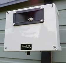 ADJUSTABLE ULTRASONIC REPELLER, WALL MOUNTABLE & WEATHERPROOF - RODENT REPELLER.