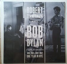 Bob Dylan Robert Zimmerman Plays Bob Dylan One Year in NYC 1961-1962 LP UK 2013
