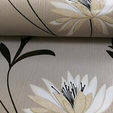 NEW BELGRAVIA FLOWER PATTERN FLORAL LEAF EMBOSSED GLITTER MOTIF WALLPAPER 213