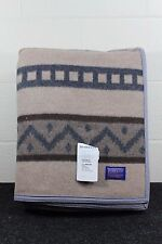 Pendleton King Blanket, Wool, Icelandic Pattern, NEW WITH TAGS