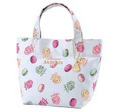Laduree Japan ❤ Tote Bag S Roses et macarons Green