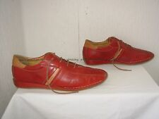 Chaussures Derbies Baskets Pikolinos cuir rouge 41