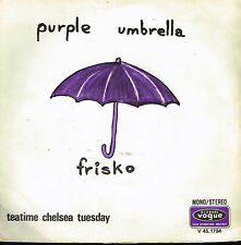 "45T 7"": Frisko: purple umbrella. vogue. A7"