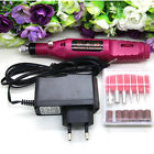 Professional Manicure Pedicure Electric Drill Nail Pen Machine Set Kit New