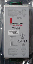 WATLOW ANAFAZE TLM-8 THERMAL LIMIT MONITOR TLME31DDDDDDNN 8 CHANNEL,K TYPE